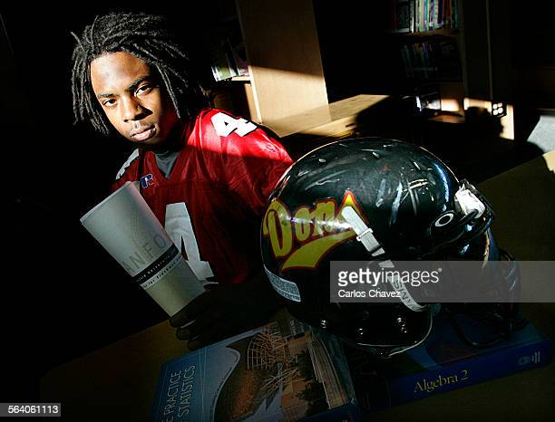 Richard Sherman receiver at Dominquez High in Compton may be the first recipient in 20–years of a Stanford University scholarship for his 41 GPA