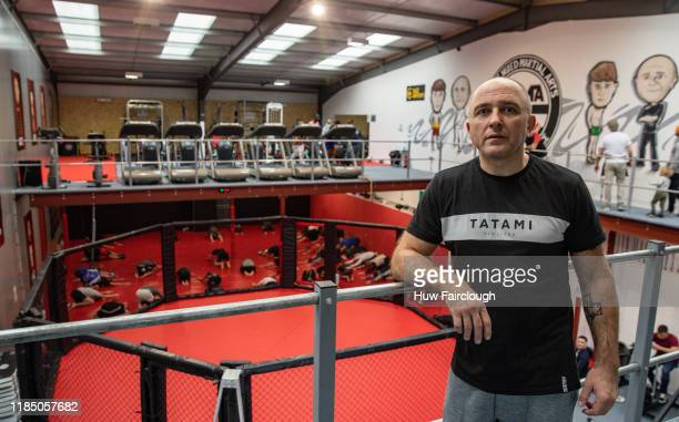 Richard Shore at the opening of Shore Mixed Martial Arts on November 2 2019 in Abertillery Wales