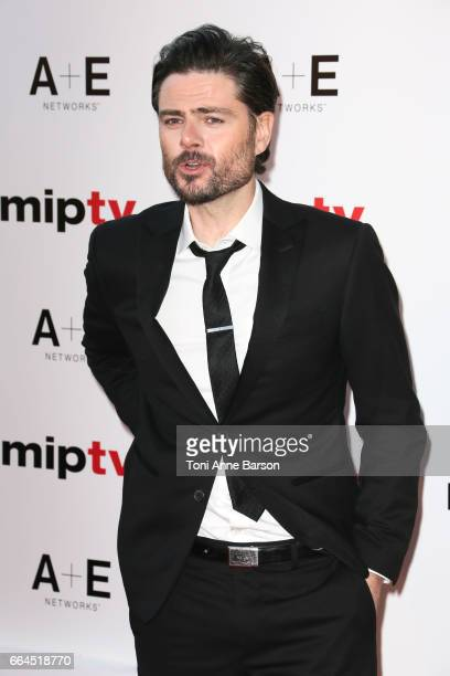 Richard Short arrives at the MIPTV 2017 Opening Party at the Martinez Hotel on April 4 2017 in Cannes France