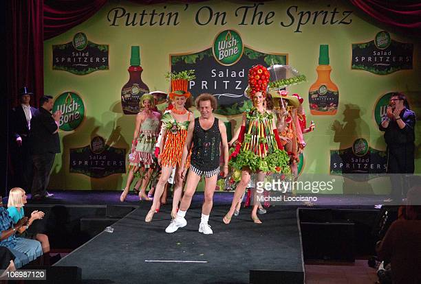 Richard Simmons and WishBone Salad Spritzer Models