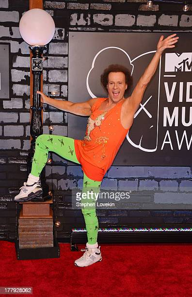 Richard Simmons attends the 2013 MTV Video Music Awards at the Barclays Center on August 25 2013 in the Brooklyn borough of New York City