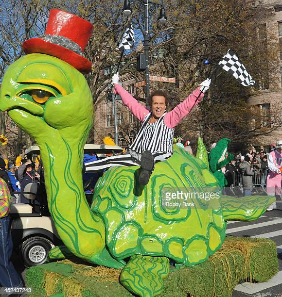 Richard Simmons attends the 87th annual Macy's Thanksgiving Day parade on November 28 2013 in New York City