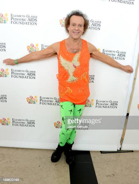 Richard Simmons attends the Elizabeth Glaser Pediatric AIDS Foundation's 24th Annual 'A Time For Heroes' at Century Park on June 2 2013 in Los...
