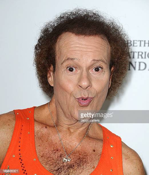 Richard Simmons attends the Elizabeth Glaser Pediatric AIDS Foundation's 24th annual A Time For Heroes at Century Park on June 2 2013 in Los Angeles...