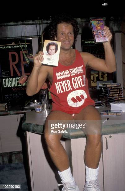 Richard Simmons during American Booksellers Convention May 23 1992 in Anaheim California United States