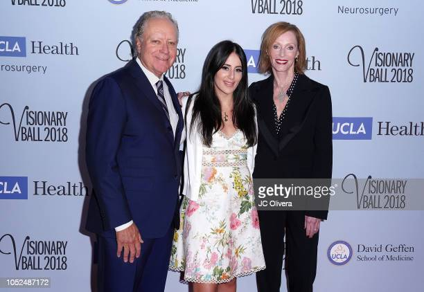 Richard 'Skip' Bronson Bella Bronson and Edie Baskin Bronson attend the 2018 Visionary Ball benefiting the UCLA department of neurosurgery at The...