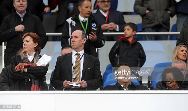 Richard Skirrow Club Secretary of Wolverhampton Wanderers and Jez Moxey the CEO of Wolverhampton Wanderers