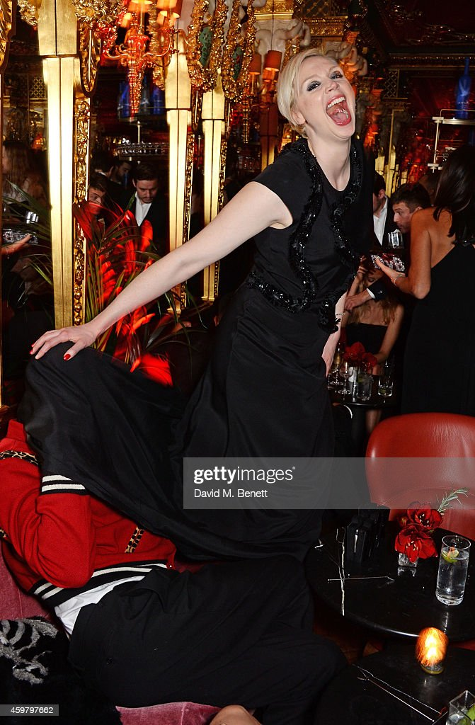 Edward Enninful Celebrations In The Oscar Wilde Bar, Hotel Cafe Royal : News Photo