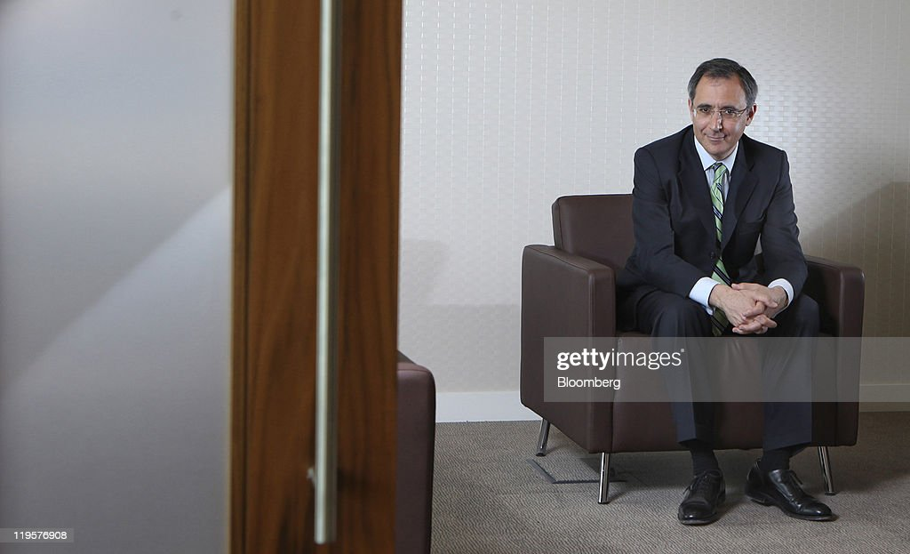 Richard Solomons Chief Executive Officer Of Intercontinental Hotels Group Plc Ihg Poses