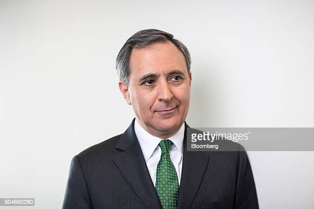 Richard Solomons Chief Executive Officer Of Intercontinental Hotels Group Plc Poses Following A Bloomberg Television Interview
