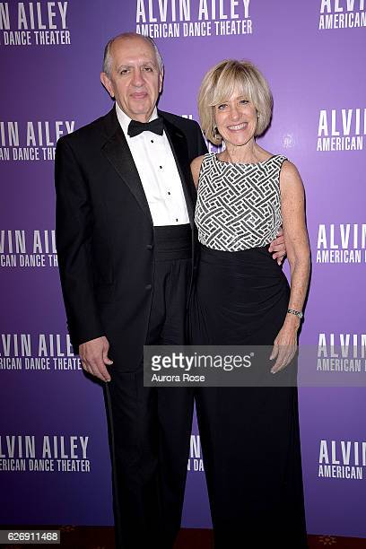 Richard Speciale and Jane Cooperman attend Alvin Ailey American Dance Theater Opening Night Gala Benefit 'An Evening of Ailey and Jazz' at New York...