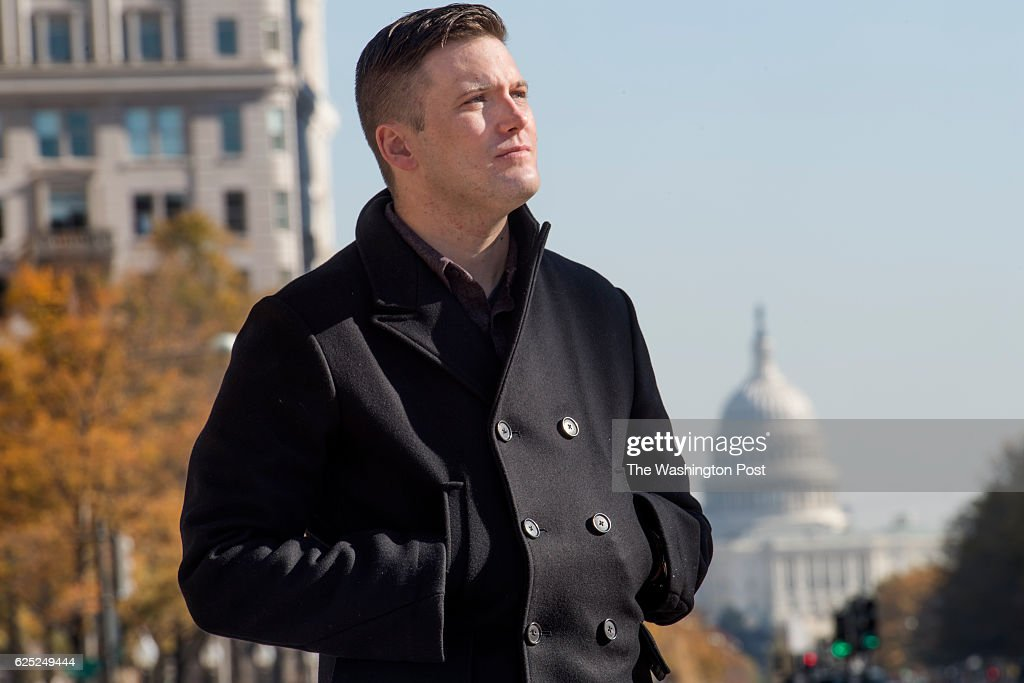 Alternative Right White Nationalist In Town For Conference : News Photo