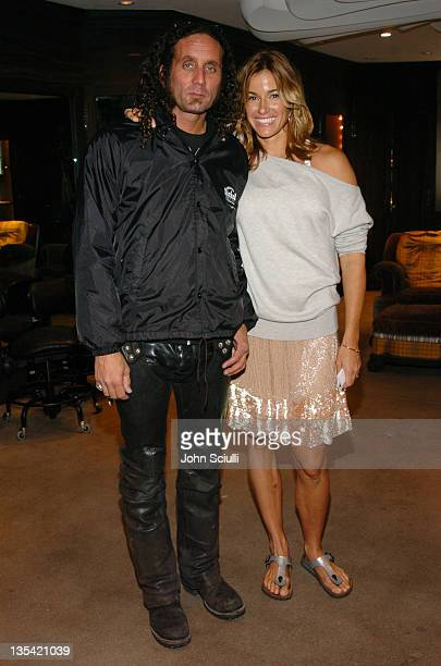 Richard Stark and Kelly Killoren Bensimon during Laurie Stark of Chrome Hearts Hosts a High Tea in Celebration of Kelly Killoren Bensimon's New Book...