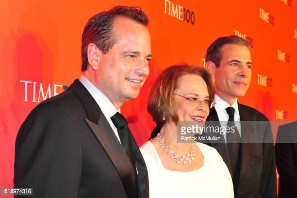 Richard Stengel and Mark Ford attend Time 100 at Frederick P Rose Hall on May 4 2010 in New York City