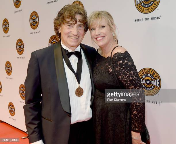 Richard Sterban of The Oak Ridge Boys and Donna Sterban attend Medallion Ceremony to celebrate 2017 hall of fame inductees Alan Jackson Jerry Reed...