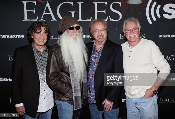 Richard Sterban William Lee Golden Duane Allen and Joe Bonsall of the Oak Ridge Boys attend SiriusXM presents the Eagles in their first ever concert...