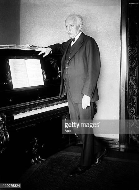 Richard Strauss German composer and conductor c. 1925.