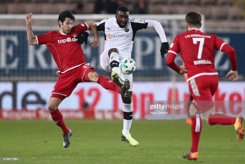 1. FC Kaiserslautern v SV Sandhausen - Second Bundesliga