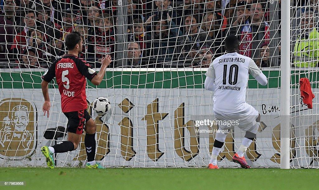 SC Freiburg v SV Sandhausen - DFB Cup