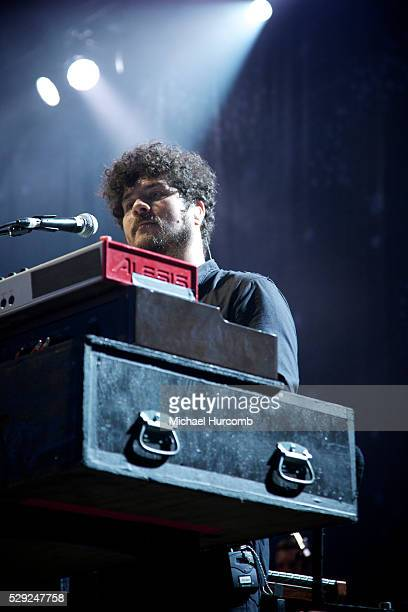 Richard Swift of The Shins performing in Toronto August 4th 2012