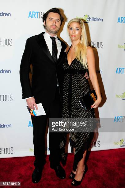 Richard Taittinger and Elodie Taittinger attend the Event Name ARTrageous Gala Dinner Art Auction Celebrating Hour Children 30th Anniversary at...