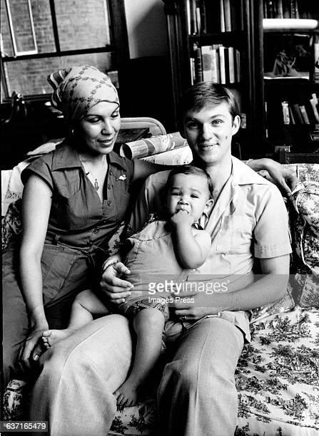 Richard Thomas and his family circa 1977 in New York City