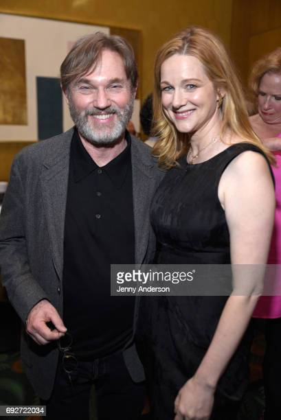 Richard Thomas and Laura Linney attend the Tony Honors Cocktail Party Presenting The 2017 Tony Honors For Excellence In The Theatre And Honoring The...