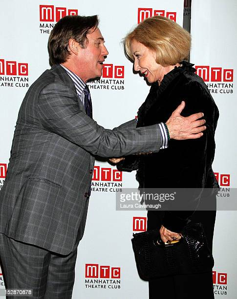 Richard Thomas and Michael Learned attend An Enemy Of The People Broadway Opening Night After Party at Copacabana on September 27 2012 in New York...