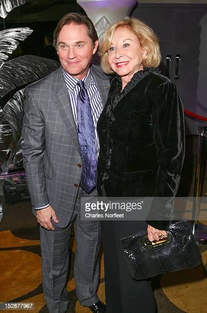 Richard Thomas and Michael Learned attend the An Enemy Of The People Broadway Opening Night After Party at Copacabana on September 27 2012 in New...