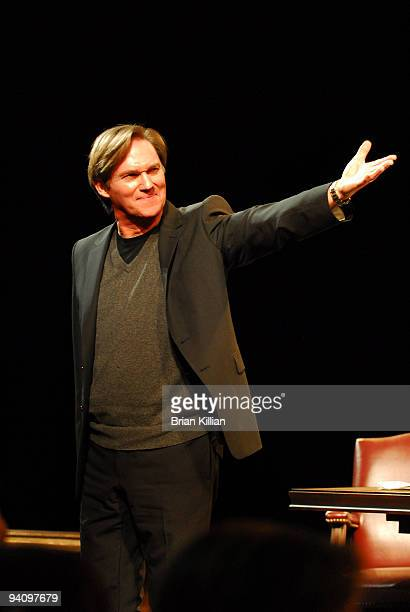 Richard Thomas takes a bow after the Broadway opening night of Race at The Ethel Barrymore Theatre on December 6 2009 in New York City