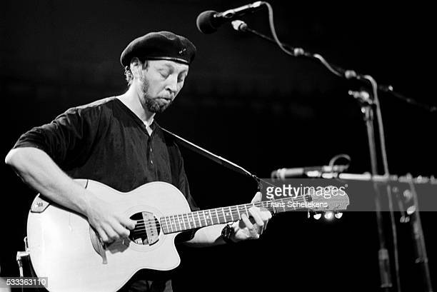 Richard Thompson, guitar and vocals, performs at the Paradiso on September 20th 1992 in Amsterdam, the Netherlands.