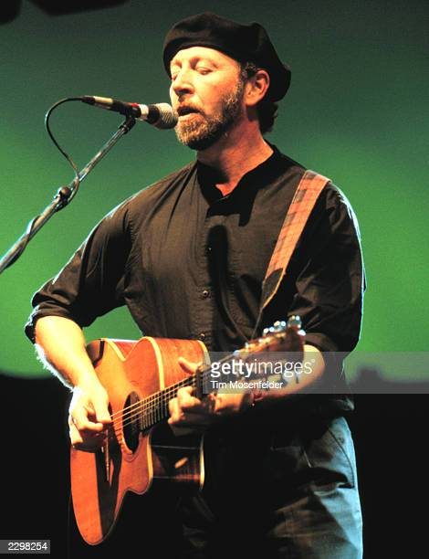 Richard Thompson Performing at the Guiness Fleadh at San Jose State University in San Jose Calif. On June 28th, 1998. Image By: Tim...