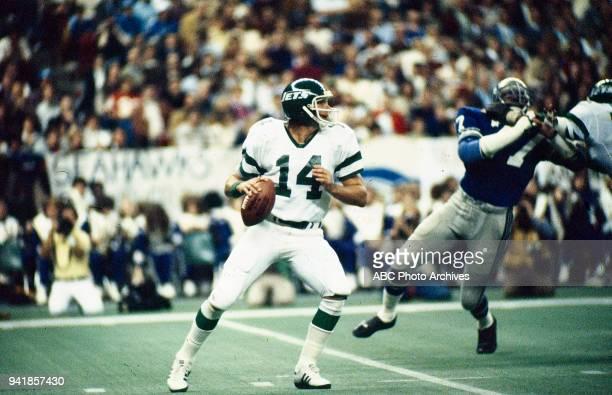 Richard Todd New York Jets vs Seattle Seahawks gameplay