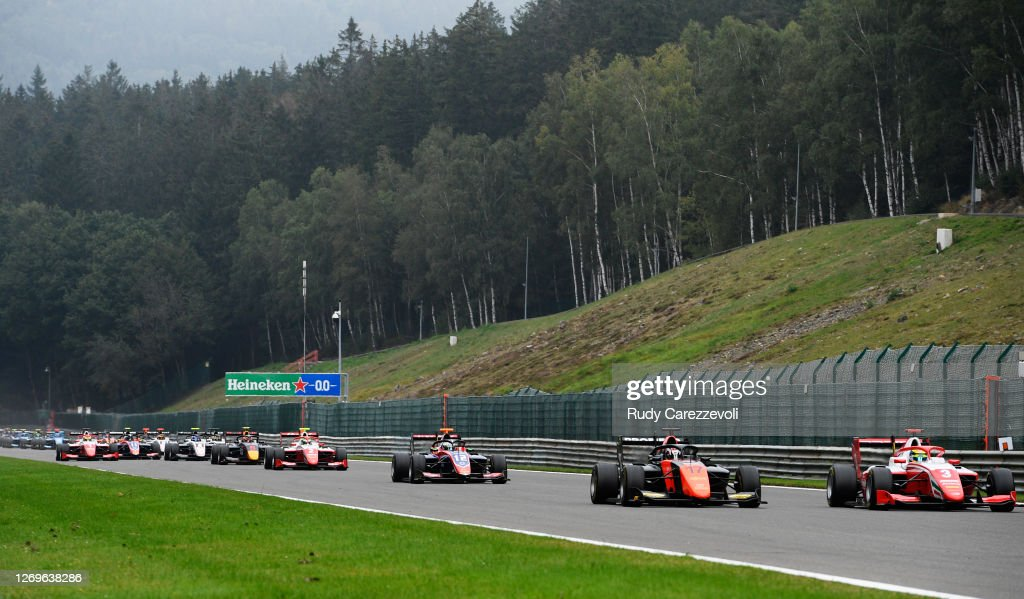 Formula 3 Championship - Round 7:Spa-Francorchamps - Second Race : News Photo