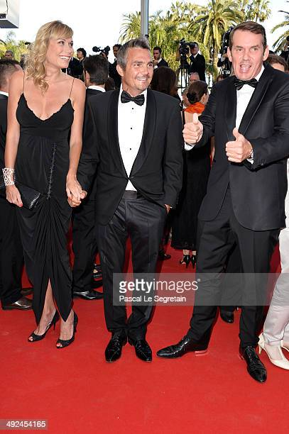 Richard Virenque and guests attend the Two Days One Night premiere during the 67th Annual Cannes Film Festival on May 20 2014 in Cannes France