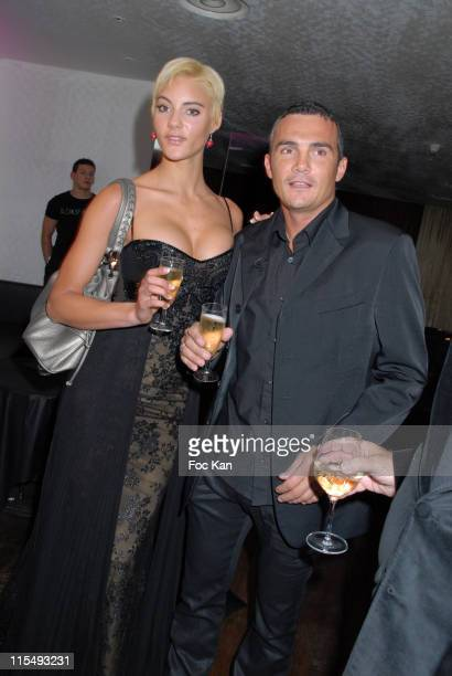Richard Virenque and Sylvia attend the Zuhair Murad Paris Haute Couture Spring/Summer 2008 After Party at the Club de L'Etoile on January 212008 in...