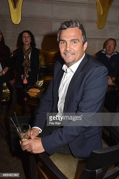 Richard Virenque attends the Festina and Cleor Young Bikers Challenge Awards hosted by Richard Virenque at Hotel Banke on October 20 2015 in Paris...