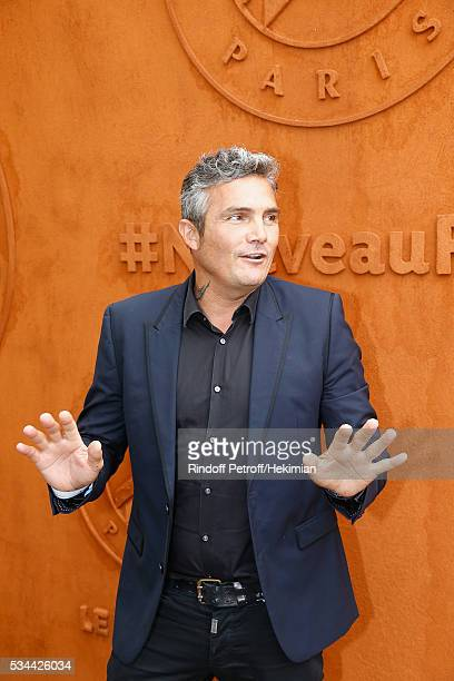Richard Virenque attends the French Tennis Open Day Five at Roland Garros on May 26 2016 in Paris France