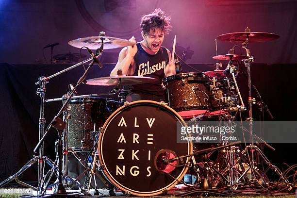 Richard Walker of English Indie Pop band Alvarez Kings opens the concerto of American singer and songwriter Melanie Adele Martinez performs on...