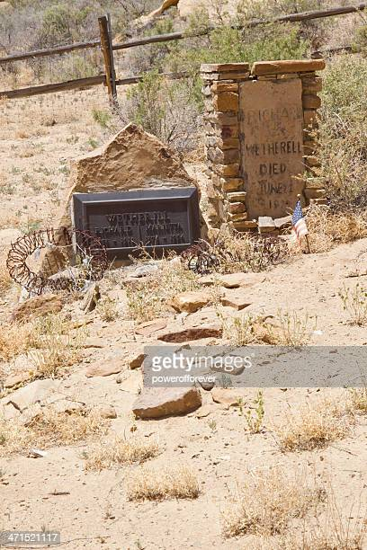 Richard Wetherill's Grave - Chaco Culture National Historical Park