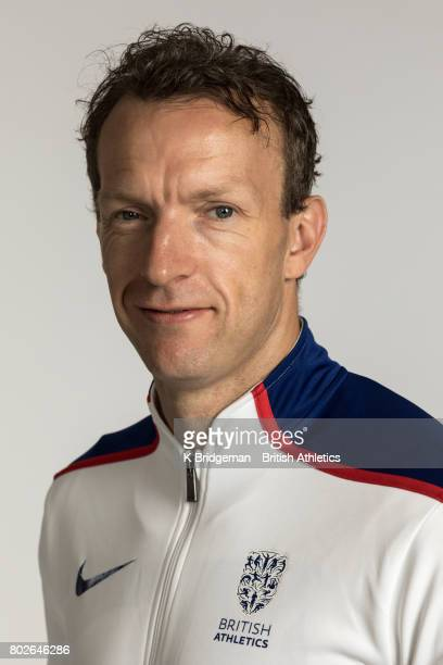 Richard Whitehead of Great Britain poses for a portrait during the British Athletics World Para Athletics Championships Squad Photo call on June 25...