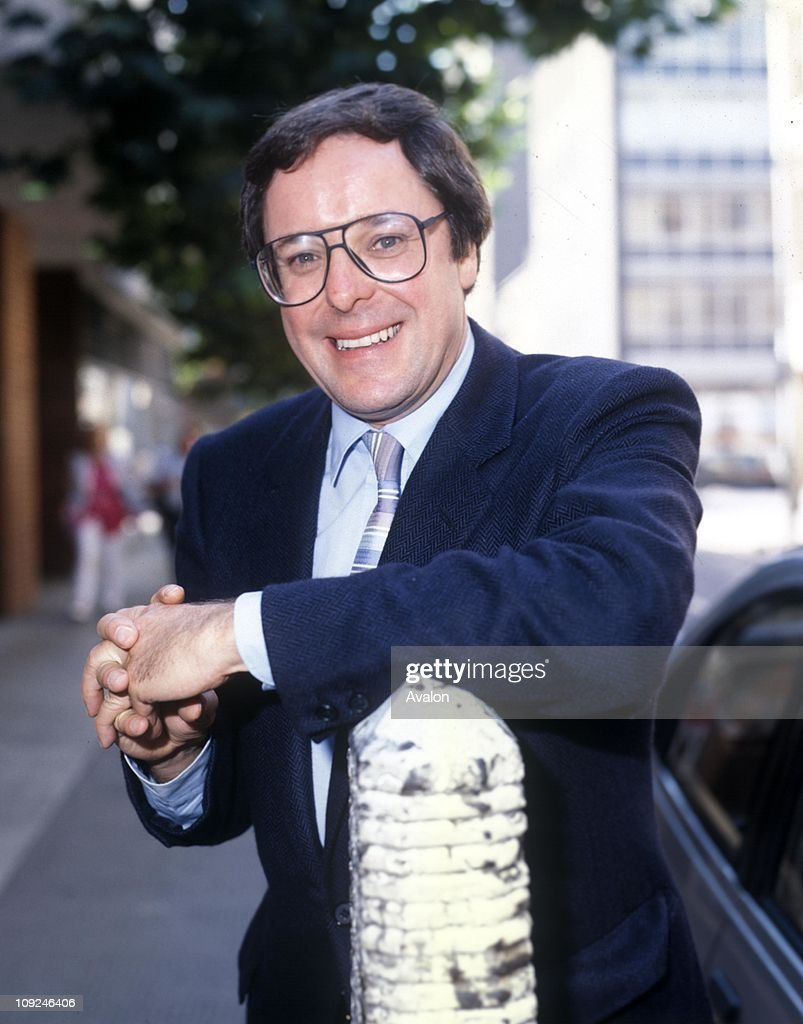 Richard Whiteley - British Tv Presenter And Reporter. Presenter Of The Channel Four Game Show 'countdown', . .