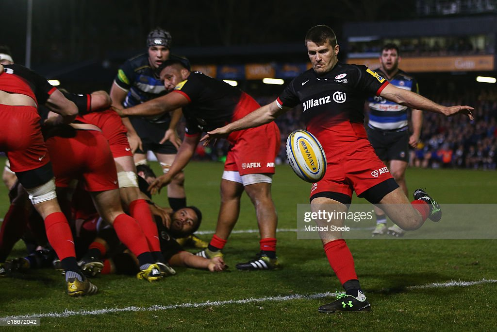 Bath Rugby v Saracens - Aviva Premiership : ニュース写真