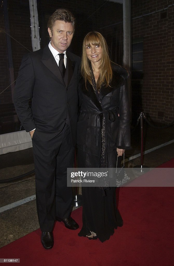 Richard Wilkins And New Zealand Fashion Designer Collette Dinnigan At News Photo Getty Images