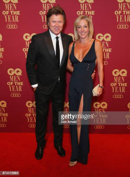 Richard Wilkins and Virginia Burmeister attend the GQ Men Of The Year Awards at The Star on November 15 2017 in Sydney Australia