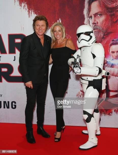 Richard Wilkins and Virginia Burmeister attends Star Wars The Last Jedi Sydney Screening Event on December 13 2017 in Sydney Australia