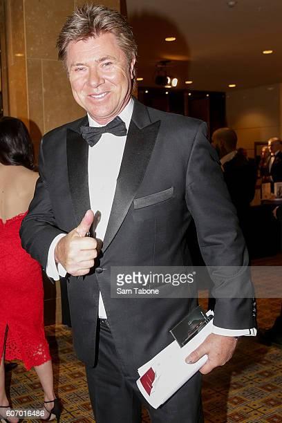 Richard Wilkins arrives ahead of the Olivia NewtonJohn Gala at Crown Palladium on September 17 2016 in Melbourne Australia