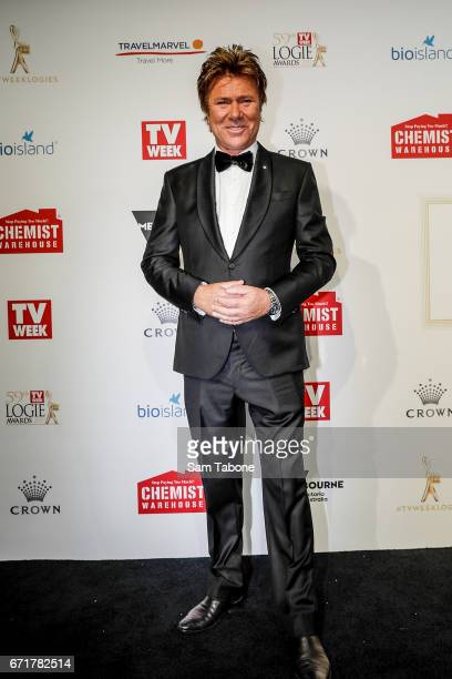 Richard Wilkins arrives at the 59th Annual Logie Awards at Crown Palladium on April 23 2017 in Melbourne Australia