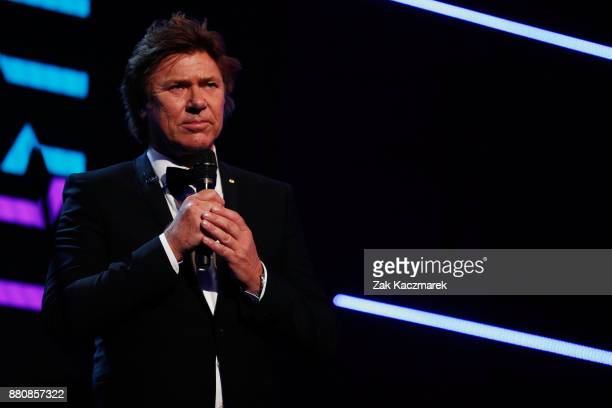 Richard Wilkins presents on stage during the 31st Annual ARIA Awards 2017 at The Star on November 28 2017 in Sydney Australia