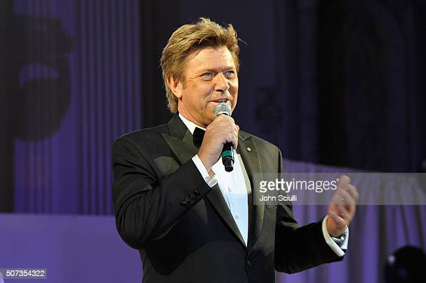 Richard Wilkins speaks onstage during the G'Day USA 2016 Black Tie Gala at Vibiana on January 28 2016 in Los Angeles California